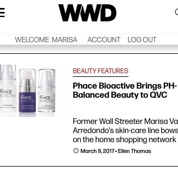 Yay!! Thanks for the Feature WWD! PHACE BIOACTIVE's launch on QVC was a big success...the Bright Face Kit you featured sold out in the 1st hour - as did 2 other products!! @qvc @wwd  #thephacelife #wwd #qvc #qvcbeauty #beautyiq #entrepreneurlife #phacebioactive #happiness #dreamcometrue #somuchfun #phacebioactive #phoptimizedskincare #beautywithsubstance