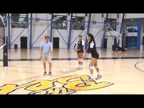 AVCA Video Tip of the Week: Indoor Volleyball Setting Drills to Build Strength - YouTube