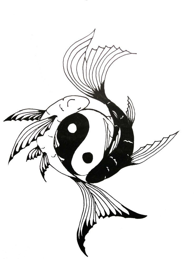 Yin-Yang Tattoo by DarkMoon17.deviantart.com on @deviantART