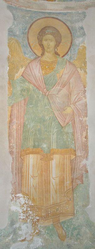 Дионисий. Архангел Гавриил. 1502г. Собор Рождества Богородицы Ферапонтова монастыря Музей фресок Дионисия