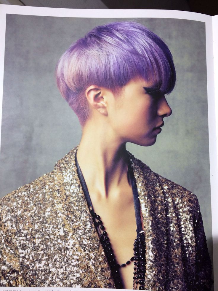 Hair: Teruyoshi Kato(TONI&GUY JAPAN) Colour: Makoto Iwaya(TONI&GUY JAPAN)