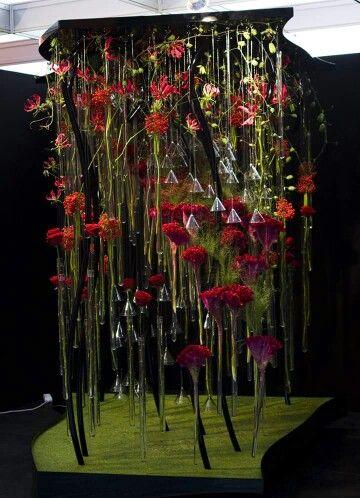 "Design by Ruud Hazelaar, Netherlands :: Europa Cup ""Symphony in Blooms"""