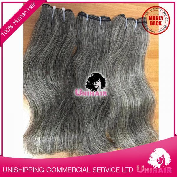 Best 25 grey hair extensions ideas on pinterest black to silver weft hair 12 32 grey hair 100 natural remy hair extensions pmusecretfo Image collections