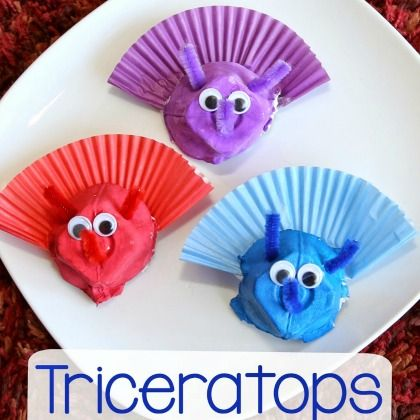 Triceratops Craft