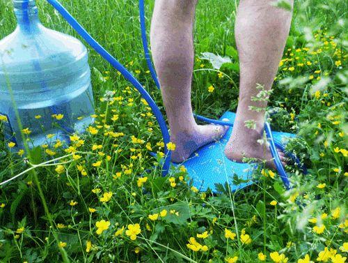 Дачный переносной душ Топтун Степ хорошая вещица, если нет водопроводной воды