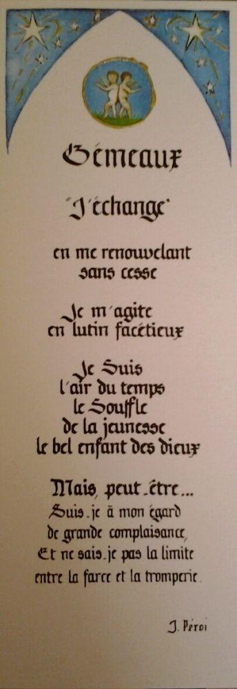 Signet Gémeaux                                                                                                                                                      Plus