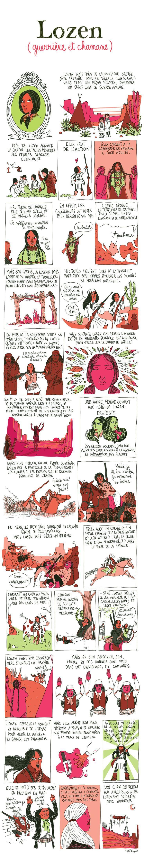 Pénélope Bagieu, les Culottées : Lozen (guerrière et chamane)