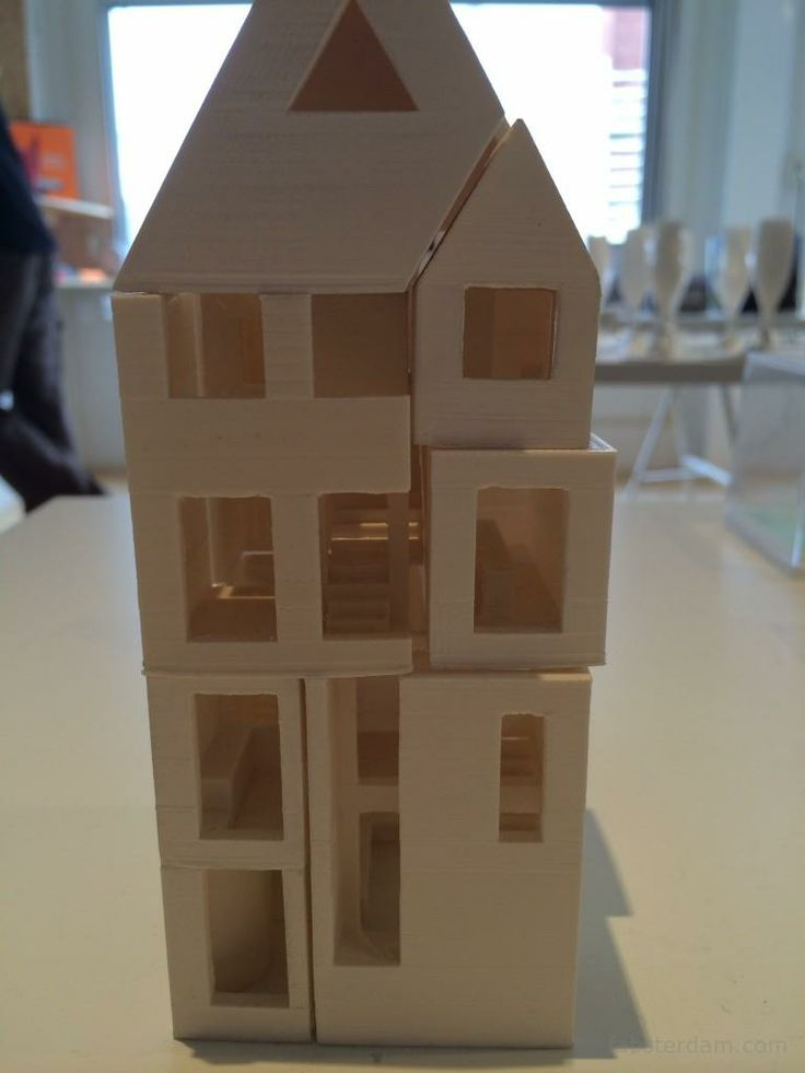 model of the house