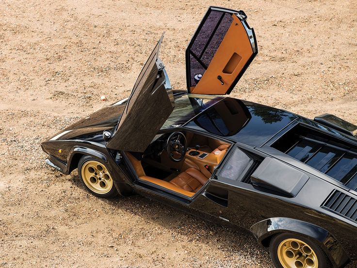 A very rare 1979 Lamborghini Countach LP400 Series 1 by Bertone is offered for sale.