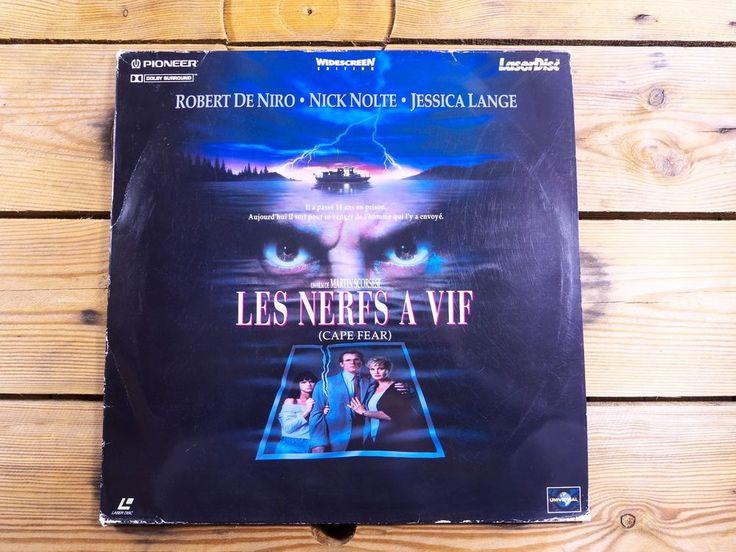 Les nerfs à vif LASERDISC PAL LD Robert De Niro Nick Nolte Martin Scorsese 1991