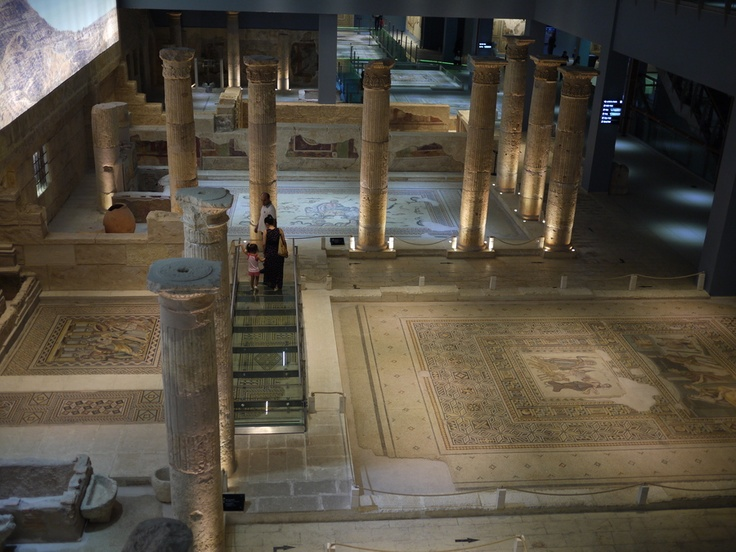 One of best museums we've seen! Gaziantep Mosaic Museum in SE Turkey.