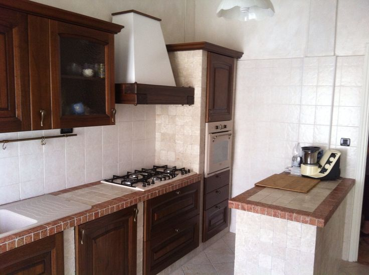 17 best images about cucine in muratura on pinterest - Cucine in muratura con penisola ...