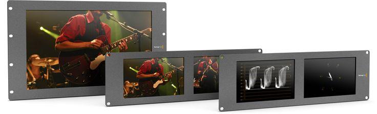 The three models of monitors.