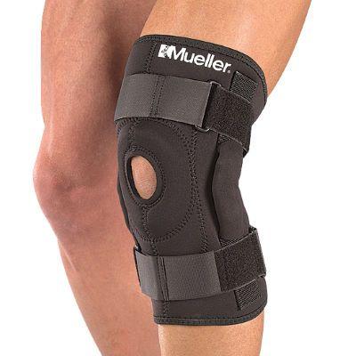 Soporte articulado para la rodilla Mueller - Medium Black Lesiones - http://www.e-ciclismo.es/?product=soporte-articulado-para-la-rodilla-mueller-medium-black-lesiones