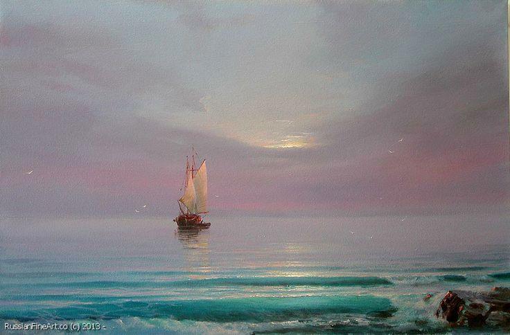 "Sergey Koval ""Crystal Morning"" - oil, canvas $2430.00"