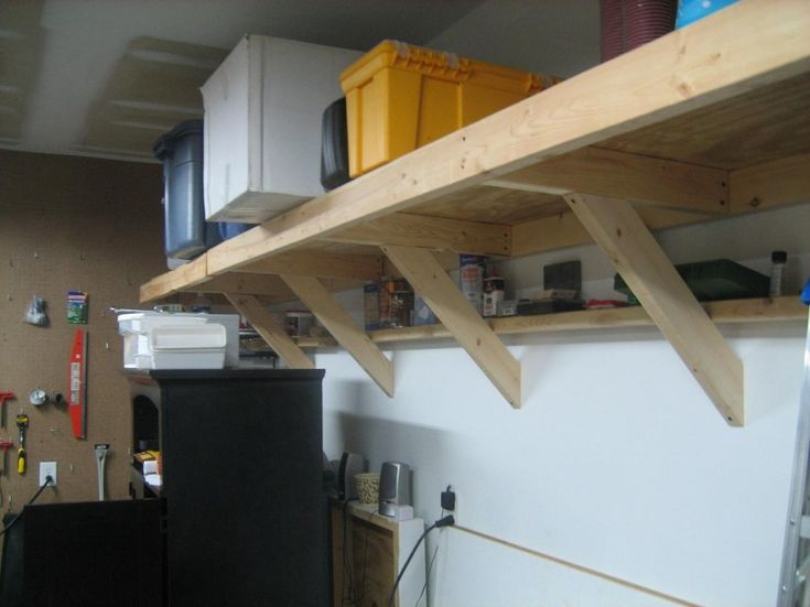 Wonderful Garage Shelving Ideas Wall And Ceiling Great Modern Style Wooden Design