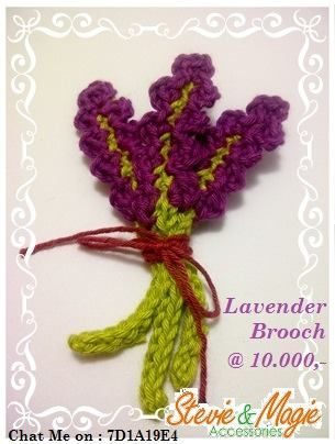 Beautiful Lavender from cotton yarn. Chat us at Black Berry PIN : 7D1A19E4