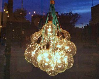 7 Cluster Pendant Chandelier Modern Lighting by HangoutLighting