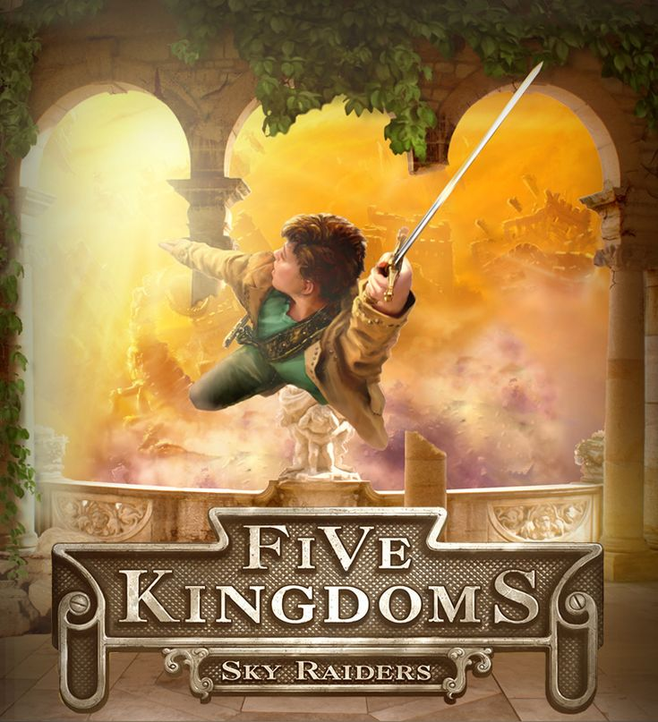 5 kingdoms Fast-paced adventure, slow storytelling in series opener read common sense media's sky raiders: five kingdoms, book 1 review, age rating, and parents guide.