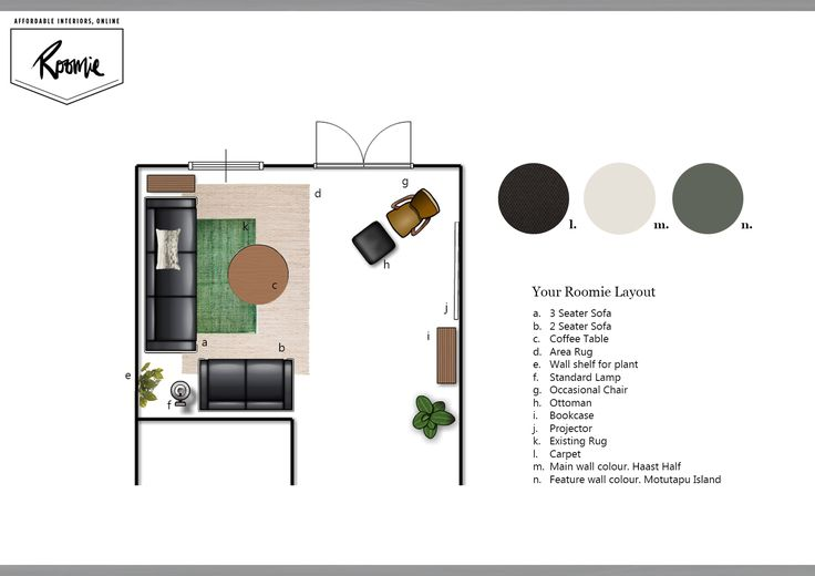 Your Roomie Layout