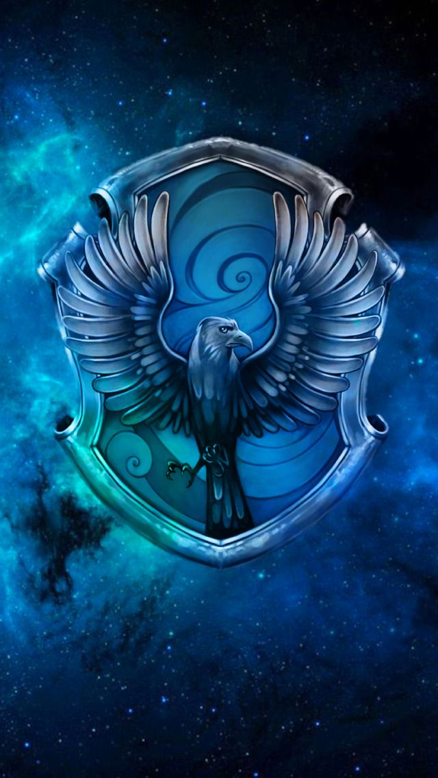 Vannessa Tesla Hogwarts House Crest Spacial Iphone Wallpapers Harry Potter Wallpaper Harry Potter Ravenclaw Harry Potter Background