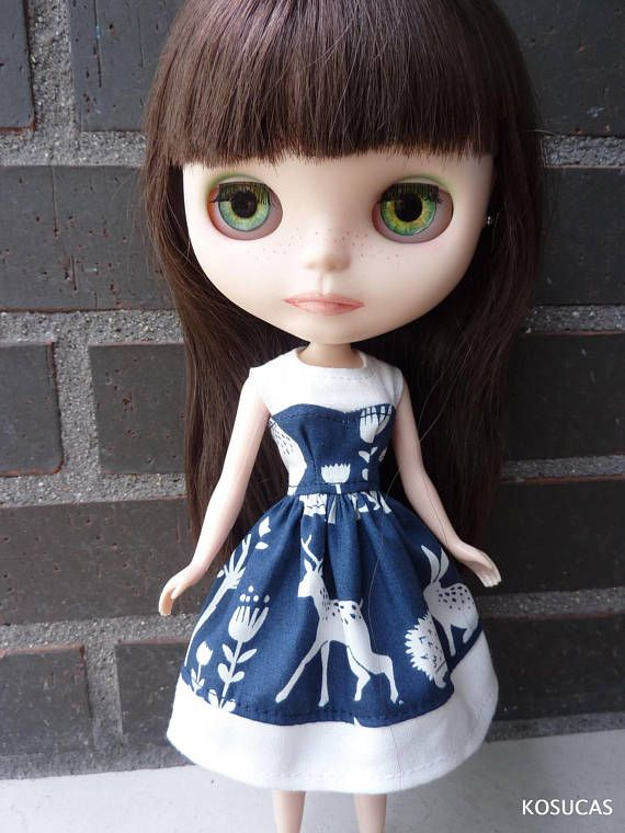 Dress for Neo Blythe dolls.