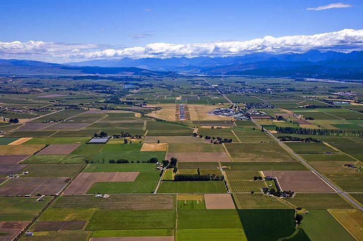 Marlborough Airport, in the middle of the Wairau Plain,  see more at New Zealand Journeys app for iPad www.gopix.co.nz