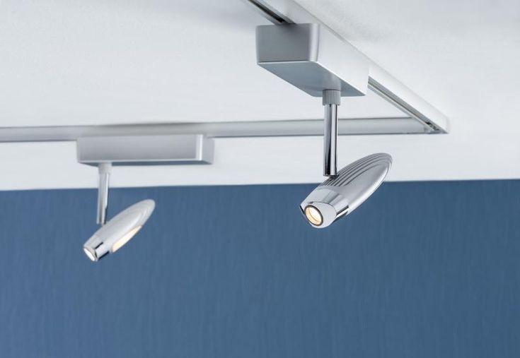 eclairage tableau eclairage sur rail plafond led spot flood 10 watts paulmann eclairage sur. Black Bedroom Furniture Sets. Home Design Ideas
