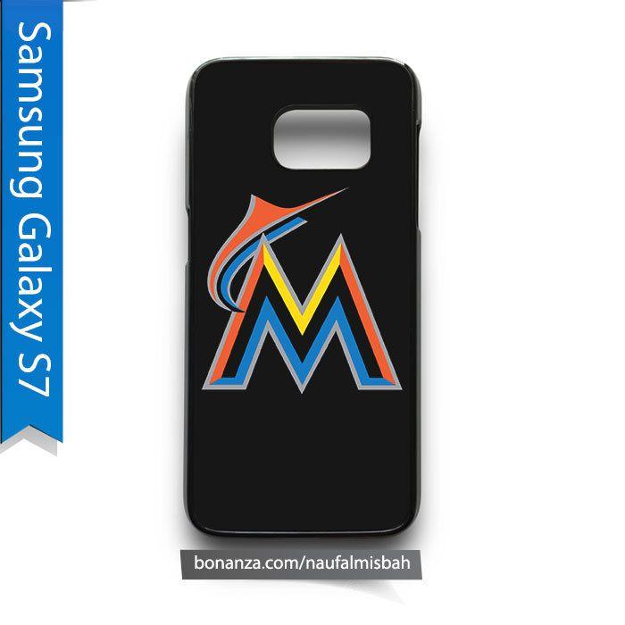 Miami Marlins Samsung Galaxy S7 Case Cover