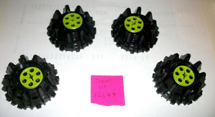 > > > $13.50 < < < #EBAY LEGO POWER MINERS Parts 64712 4185 Wedge Belt Wheel Green 4SET 8964 8960 8959  #LEGO