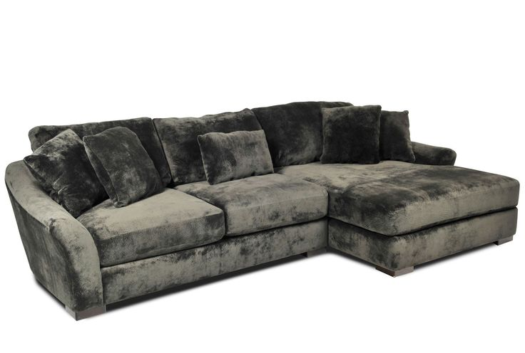 Living Spaces Rauley 2 Piece Sectional   $1395... But In Minx, Not Green. |  Apartment Ideas | Pinterest | Living Spaces, Grey Sectional And Spaces