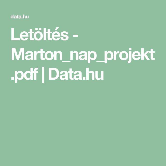 Letöltés - Marton_nap_projekt.pdf | Data.hu