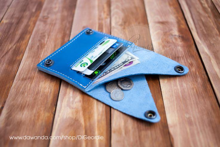 Herren Portemonnaie Leder Portemonnaie Geldbörse von DiGeordie auf DaWanda.com