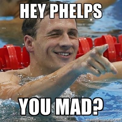Ryan Lochte #Olympics #yum