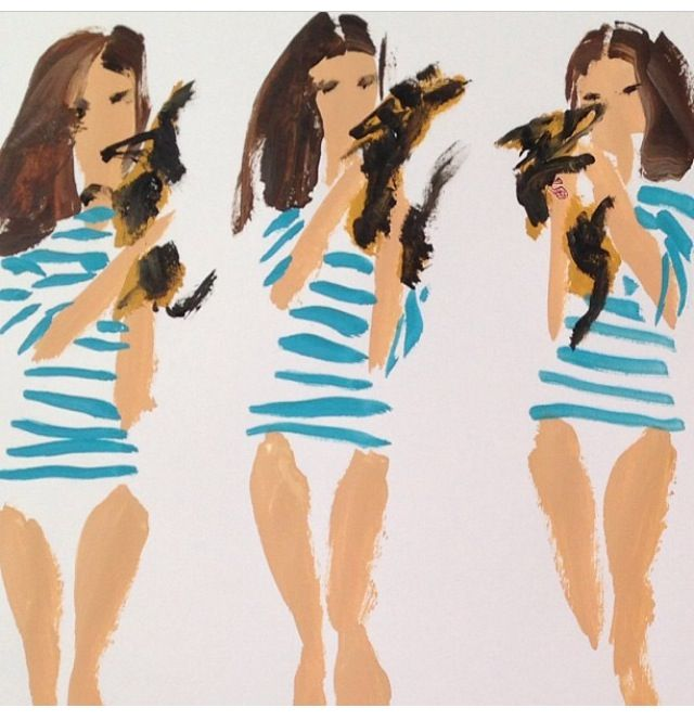 I could do this... Painting by donald robertson.