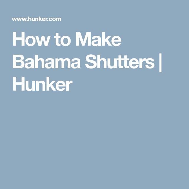 How To Make Bahama Shutters Aerogarden Pods Bahama 400 x 300