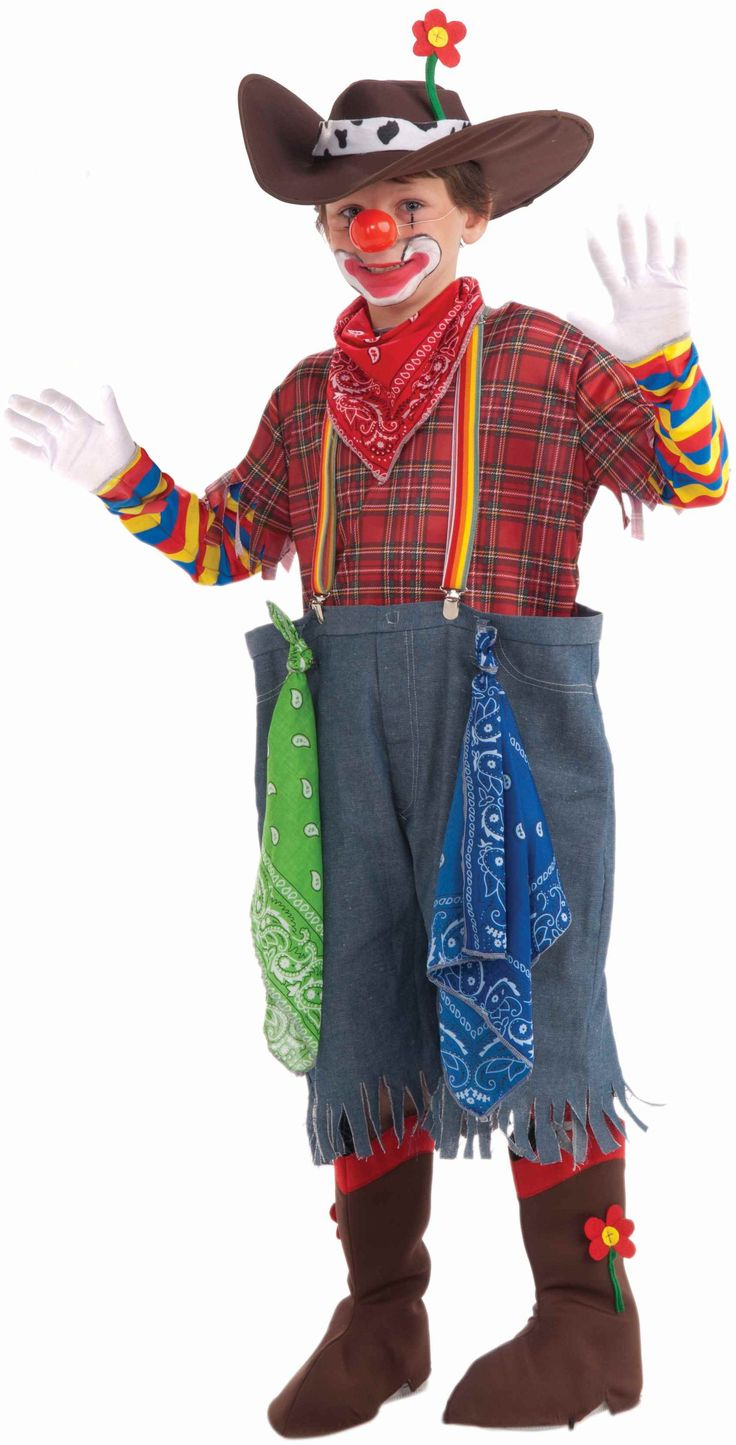 Rodeo Clown Child Costume Sleeve Boy Costumes And Children
