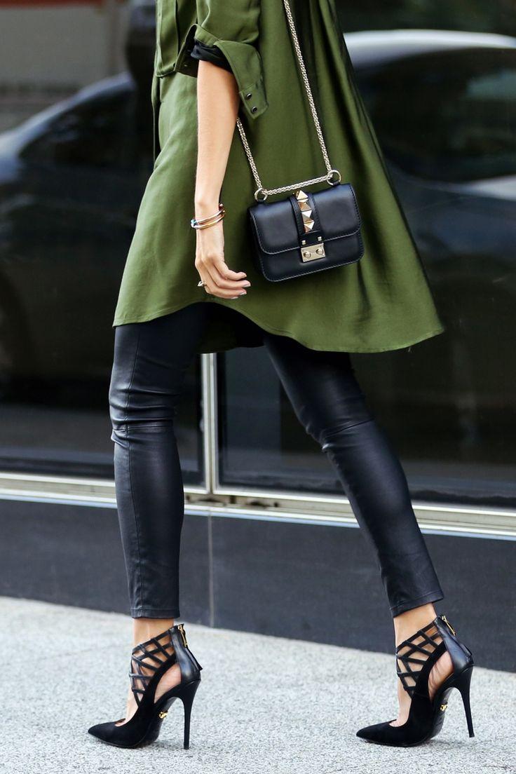 Monika Chiang shoes, Valentino Mico Lock Shoulder Bag, Marissa Webb dress