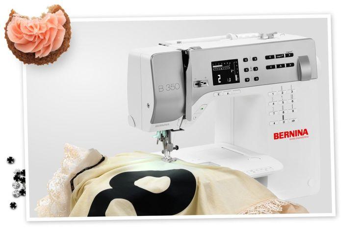 BERNINA 350 PE: The quilting model
