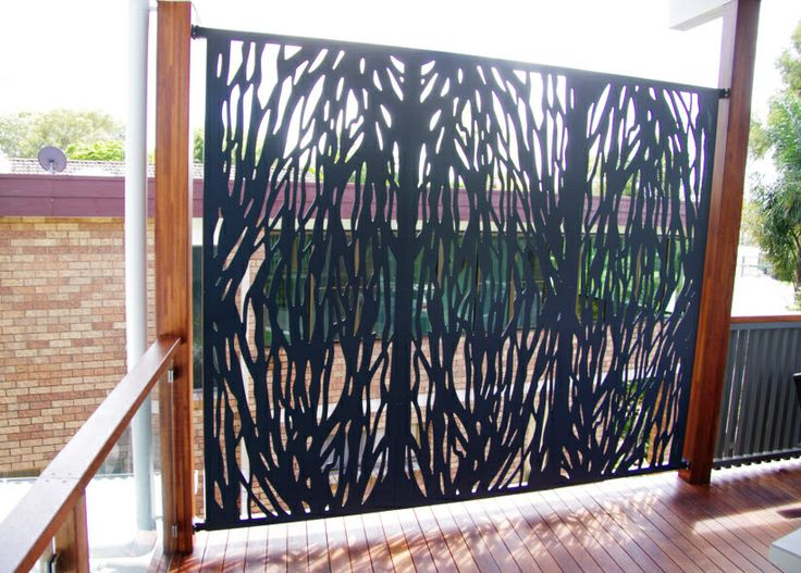 Aluminium Privacy Screen For Outdoor Area | Privacy Screens Brisbane |  Pinterest | Outdoor Areas, Screens And Laser Cut Metal