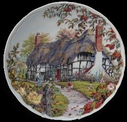 Royal Albert - Dream Cottages - Collector Plates - Autumn & 87 best Collector Plates images on Pinterest | China plates Dishes ...