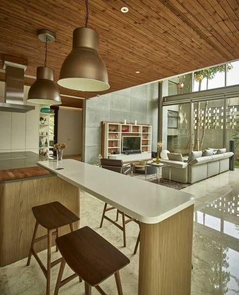 Living Room of Kembang Murni House - arsitag.com