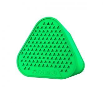 Jakość Coloud  Prostota, zabawa i świetny dźwięk. Dzięki współpracy z firmą Coloud powstał jasny i mocny przenośny głośnik, który możesz łatwo zabierać ze sobą. Słuchaj swojej muzyki, gdzie chcesz.  Produkt w kolorze zielonym