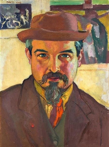 Self-portrait - Maurice Denis, 1919 (French, 1870-1943)