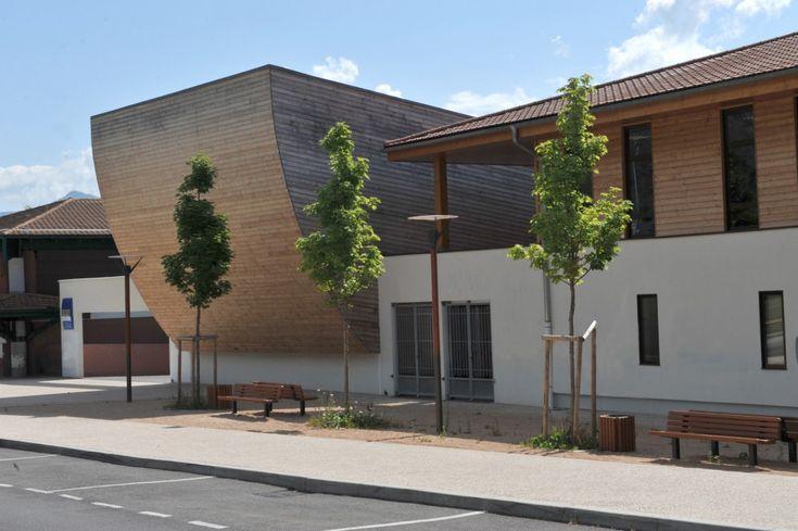Collège Simone de Beauvoir - Construction QEB salle polyvalente/extension collège, par XXL ATELIER