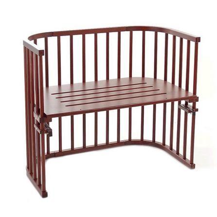 Babybay Maxi Grey Bedside Cot with Mattress