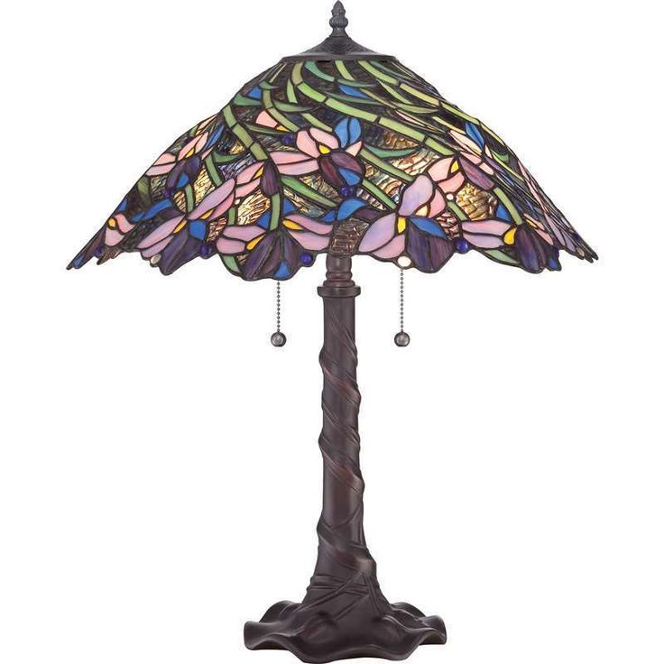 Quoizel Lighting TF1873T Tiffany Traditional Table Lamp