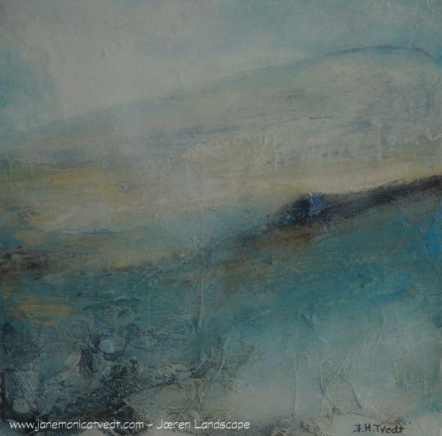 Jæren landscape - another journey of mine........mixed media