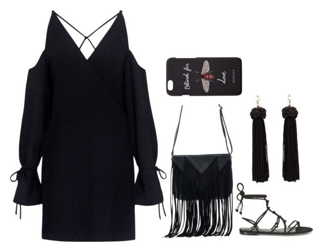 """Untitled #6"" by angeline-mewengkang on Polyvore featuring IRO, Temperley London, WithChic and Gucci"