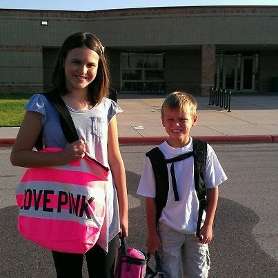 First day of school!Back2School, Schools, First Day